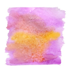 Watercolor stains background vector