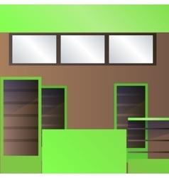 Foodcort interior vector image
