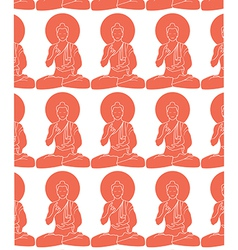 Buddhas vector image