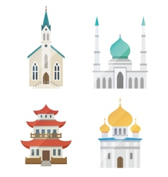 Church set vector