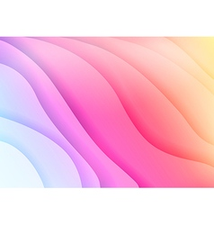 Bright colorful waves abstract background vector image