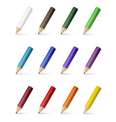 Colour pencils vector
