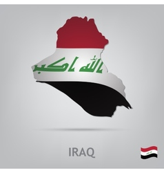 country iraq vector image vector image