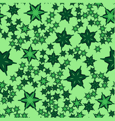 Geometric seamless star shapes pattern repeating vector