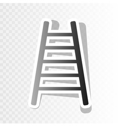 Ladder sign new year vector