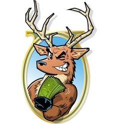 Big Bucks vector image