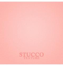 Pink stucco texture vector