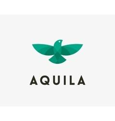 Bird eagle logo design Universal modern vector image