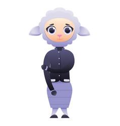 modern business woman sheep vector image vector image
