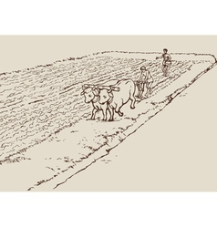Primitive agriculture vector