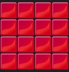 Red tiles texture seamless vector
