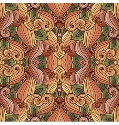 Seamless Abstract Tribal Pattern vector image