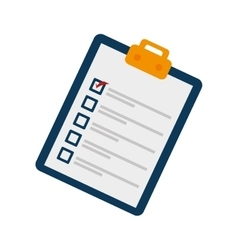Check list paper poll vector