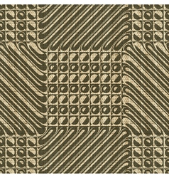 geometric print vector image