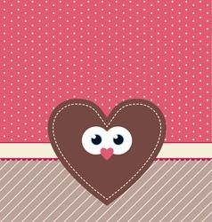 cute valentine design vector image