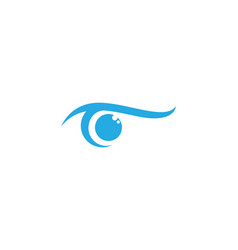 branding identity corporate eye care logo design vector image