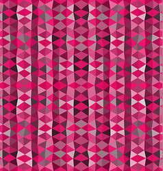 Colorful mosaic background pink triangle wallpaper vector