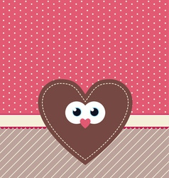 cute valentine design vector image