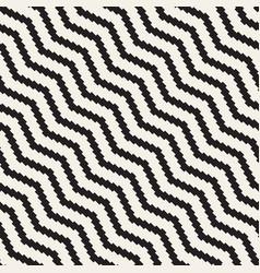 Halftone edgy lines mosaic endless stylish texture vector