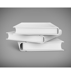 Pile of books vector image vector image