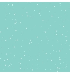 Seamless abstract snow pattern blue vector image