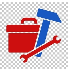Toolbox icon vector