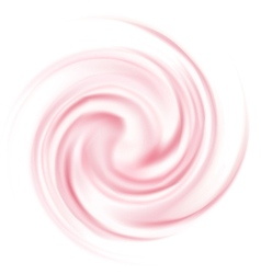 Milk yogurt cream curl vector