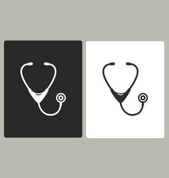 Stethoscope - icon vector