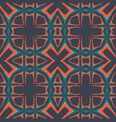 Dark seamlessgeometry pattern tileable vector