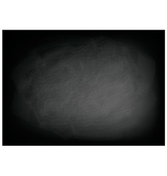 Texture of the black blackboard background vector