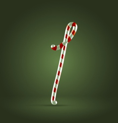 Candy cane abc 1 vector