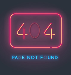 Error 404 page not found vector
