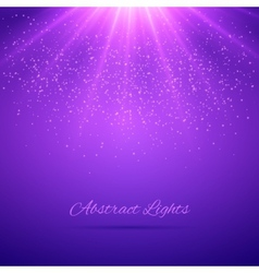 Abstract lights background vector
