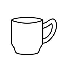Coffee mug icon drink design graphic vector