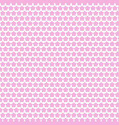 Abstract pink white star seamless pattern vector