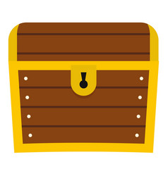 chest icon isolated vector image