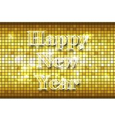 Disco Happy New Year vector image vector image