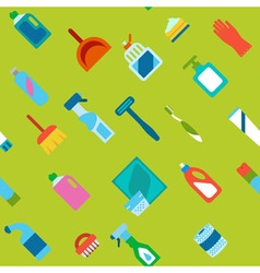 Endless flat hygiene and cleaning background vector