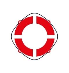 float sea lifestyle nautical marine icon vector image vector image