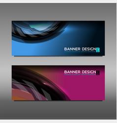 Web banner design vector