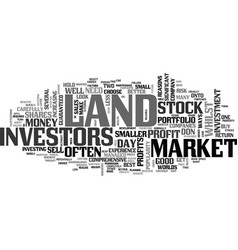 Why land beats stocks and shares text word cloud vector