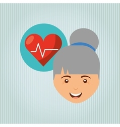 Personal health design vector
