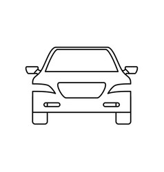 Car transport icon vector