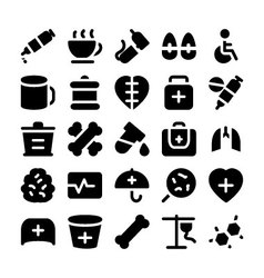 Medical icons 10 vector