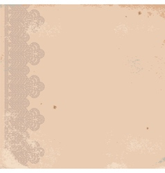 Old worn texture with border vector