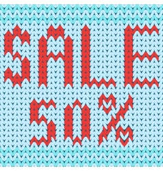 Knitted background discount fifty percent vector