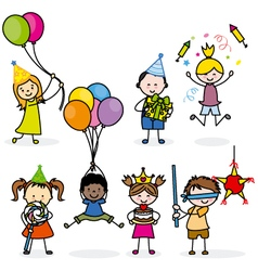 Children set party vector