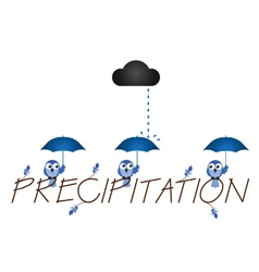 Precipitation vector