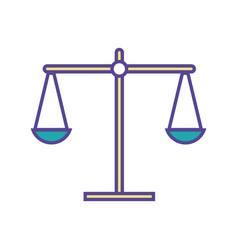Balance kilogram instrument object design vector