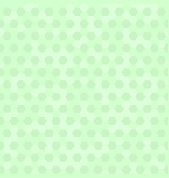 green hexagon pattern seamless vector image vector image